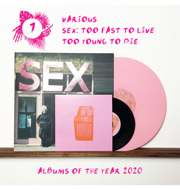 Stranger Than Paradise Records Various - SEX: Too Fast To Live Too Young To Die (Deluxe Pink Edition)