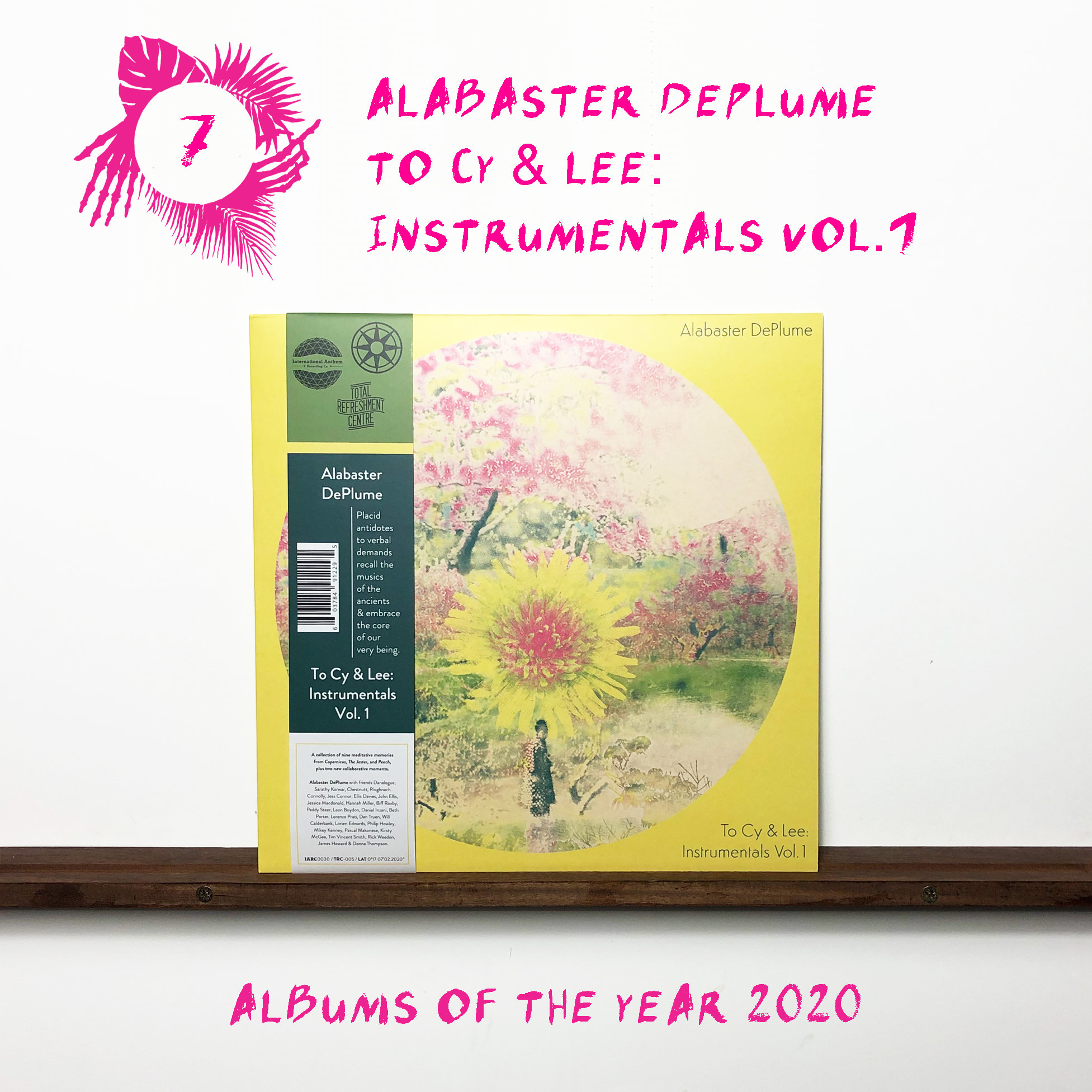 International Anthem Alabaster DePlume - To Cy & Lee: Instrumentals Vol.1