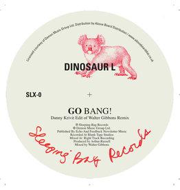 Sleeping Bag Dinosaur L / Hanson & Davis - Go Bang! (Danny Krivit Edit of Walter Gibbons Remix) / I'll Take You On (Danny Krivit Edit of Larry Levan Remix)