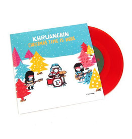 Night Time Stories Khruangbin - Christmas Time Is Here (Red Vinyl)
