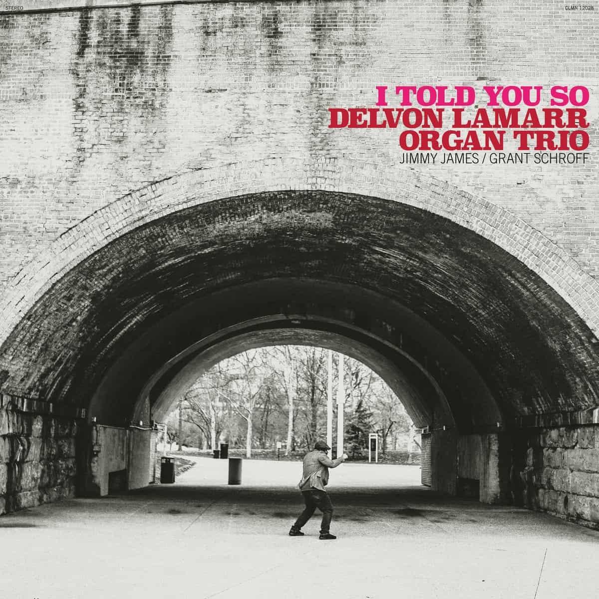 Colemine Records Delvon Lamarr Organ Trio - I Told You So (Coloured Vinyl)