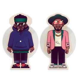 Stones Throw Knxwledge feat. NxWorries - So Nice (Picture Disc)