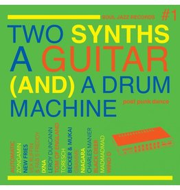 Soul Jazz Records Various -  Two Synths A Guitar (And) A Drum Machine: Post Punk Dance Vol.1 (Coloured Vinyl)