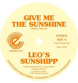 Expansion Leo's Sunshipp - Give Me The Sunshine / I'm Back For More
