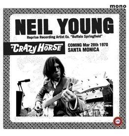 1960's Records Neil Young and Crazy Horse - Santa Monica Civic 1970