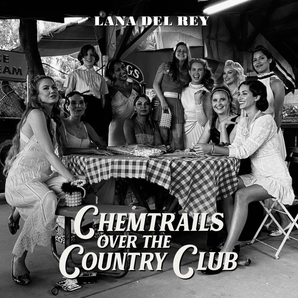 Interscope Lana Del Rey - Chemtrails Over The Country Club