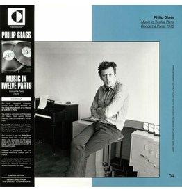 Transversales Disques Philip Glass - Music in Twelve Parts (Live in Paris 1975)