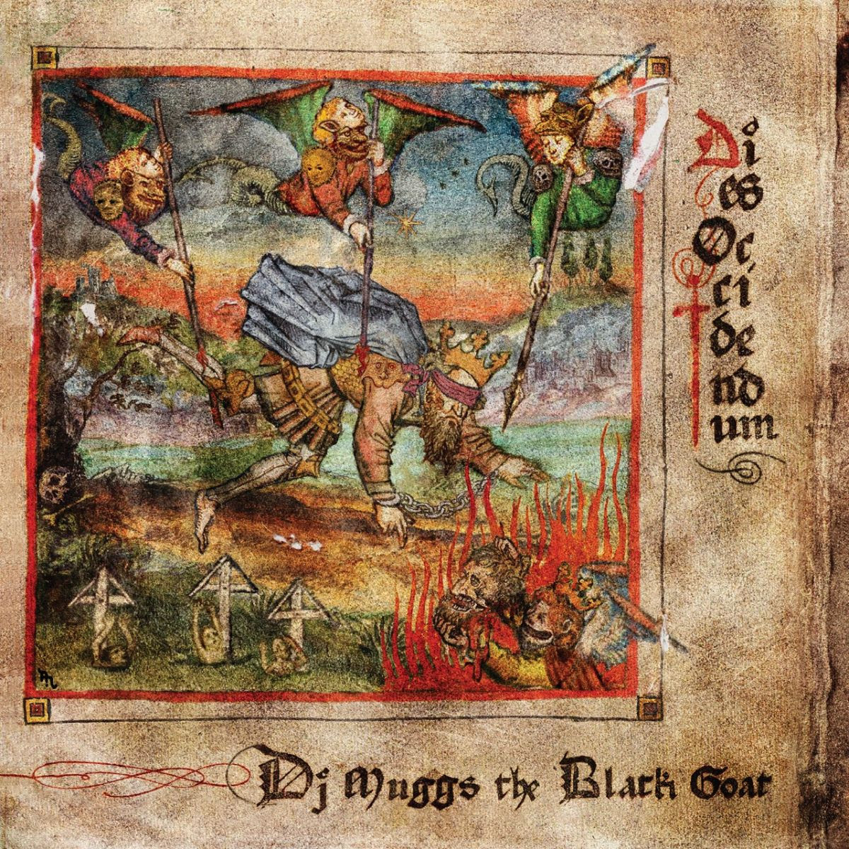 Sacred Bones Records DJ Muggs The Black Goat - Dies Occidendum (Coloured Vinyl)