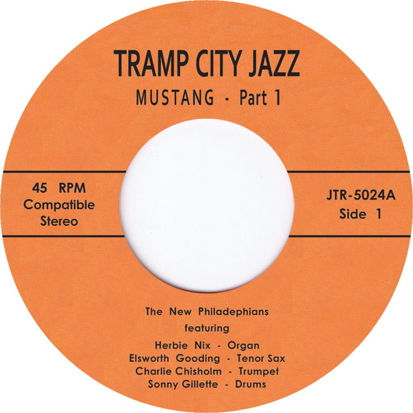 Tramp Records The New Philadelphians - The Mustang