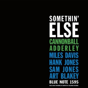 Blue Note Cannonball Adderley - Somethin' Else