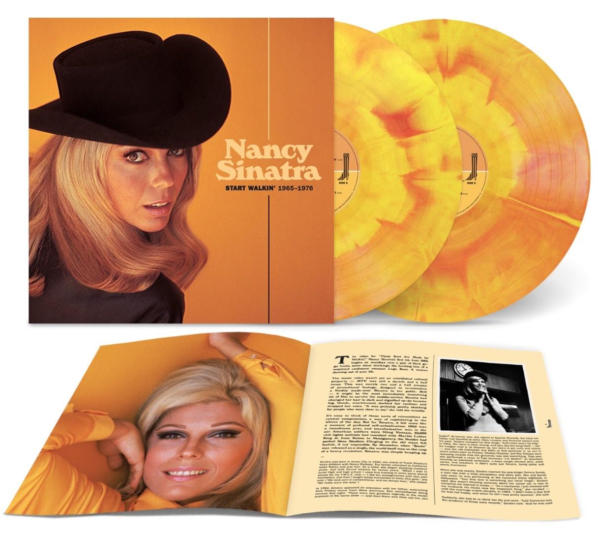 Light In The Attic Nancy Sinatra - Start Walkin': 1965-1976 (Sunrise Vinyl)