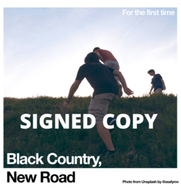 Ninja Tune Black Country, New Road - For The First Time (White Vinyl) SIGNED COPY