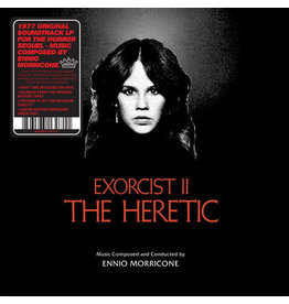Jackpot Records Ennio Morricone - Exorcist II: The Heretic (Coloured Vinyl)