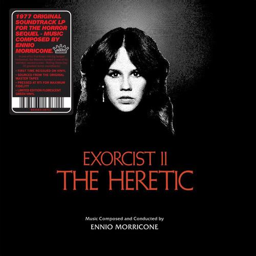 Jackpot Records Ennio Morricone - Exorcist II: The Heretic (Coloured Vinyl)