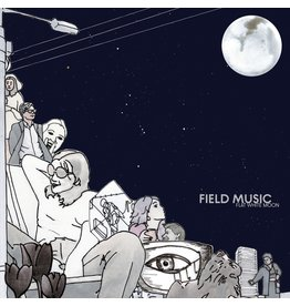 Memphis Industries Field Music - Flat White Moon (Coloured Vinyl)