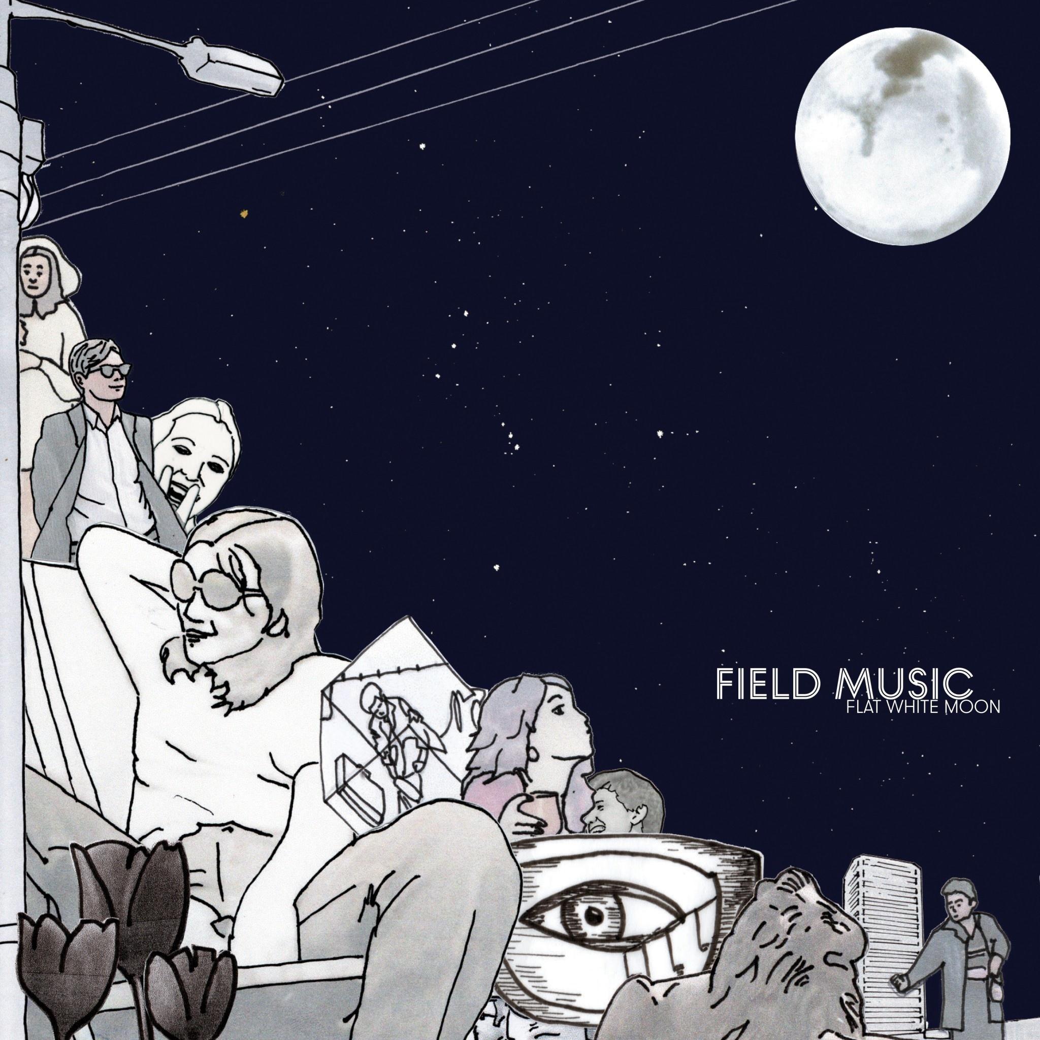 Memphis Industries Field Music - Flat White Moon (Coloured Vinyl)