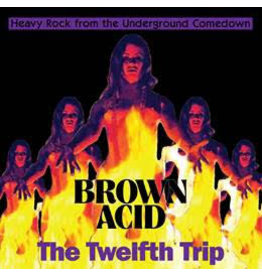 Riding Easy Records Various - Brown Acid: The Twelfth Trip (Coloured Vinyl)