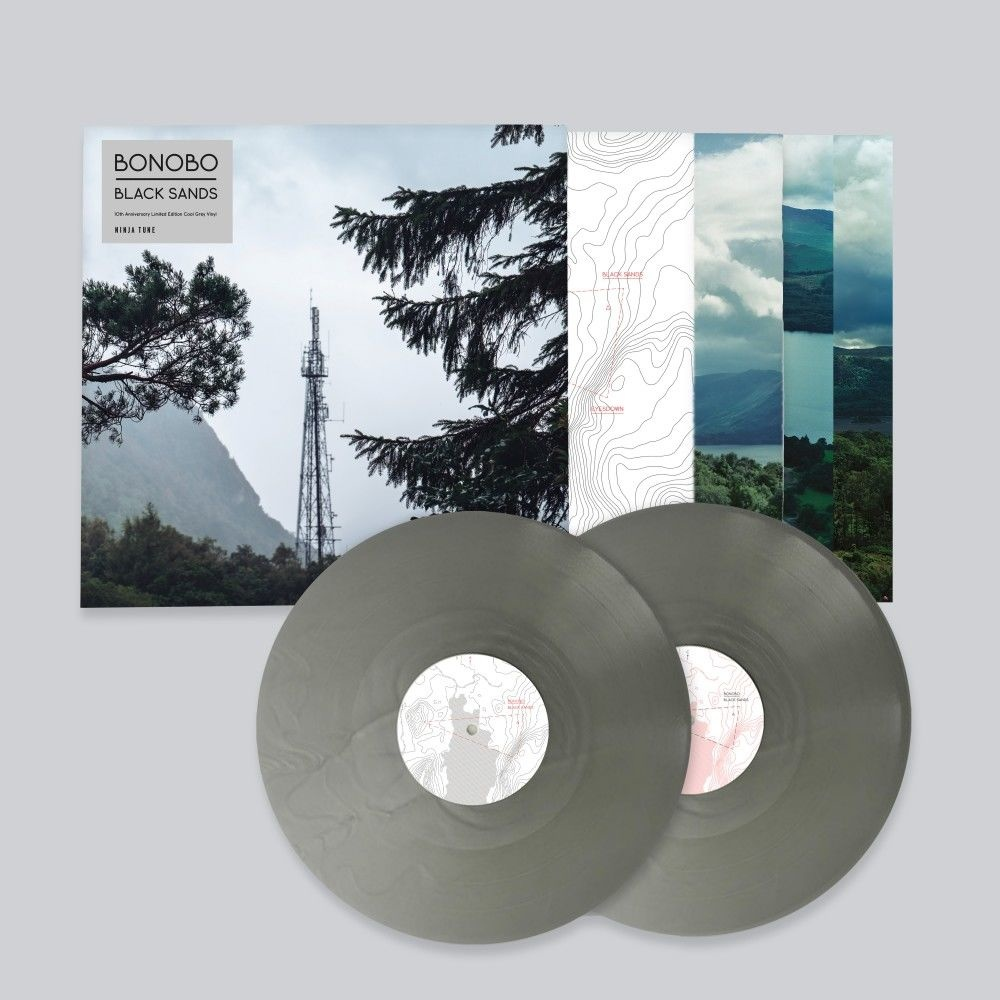 Ninja Tune Bonobo - Black Sands (10th Anniversary Grey Vinyl Edition)