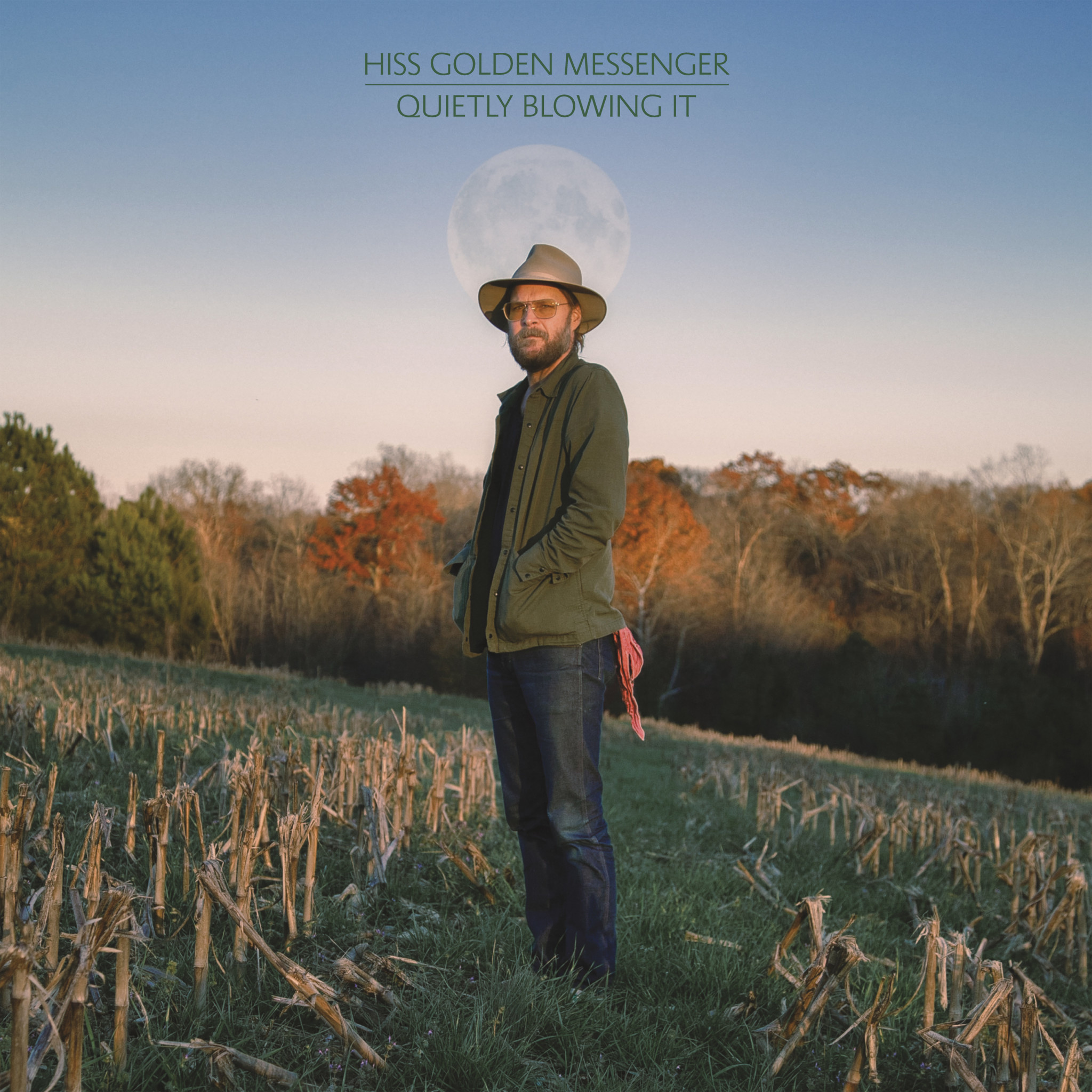 Merge Records Hiss Golden Messenger - Quietly Blowing It (Coloured Vinyl)