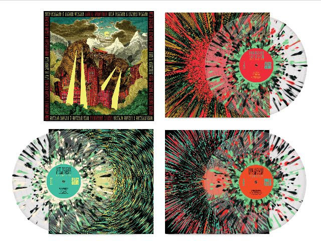 Fuzz Club Records King Gizzard & The Lizard Wizard - Live In Asheville '19 (Coloured Vinyl)