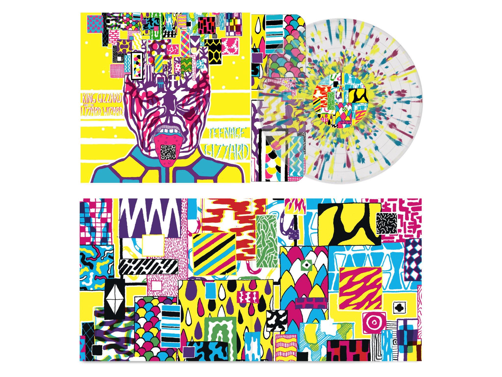 Fuzz Club Records King Gizzard & The Lizard Wizard - Teenage Gizzard (Splatter Vinyl)