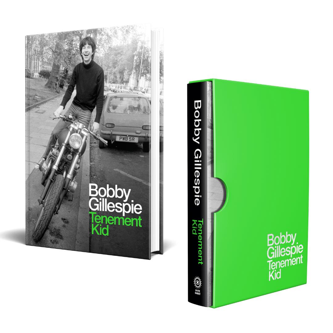 White Rabbit Books Bobby Gillespie - Tenement Kid (Limited Edition)