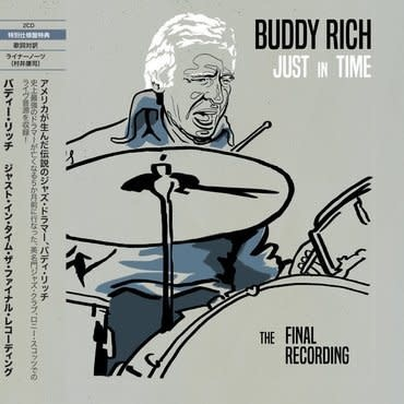 Gearbox Records Buddy Rich - Just In Time - The Final Recording (Deluxe Edition)