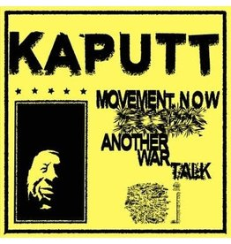 Upset The Rhythm Kaputt - Movement Now/Another War Talk (Coloured Vinyl)