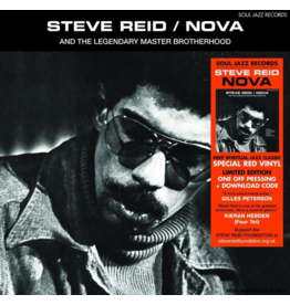 Soul Jazz Records Steve Reid - Nova (Coloured Vinyl)