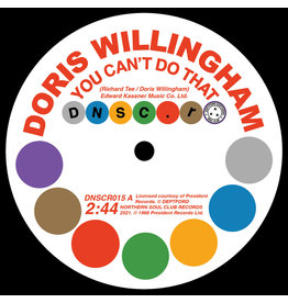 Deptford Northern Soul Club Records Doris Willingham - You Can't Do That/ Pat Hervey with The Tiaras - Can't Get You Out Of My Mind