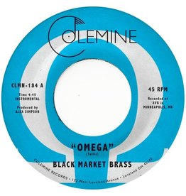Colemine Records Black Market Brass - Omega