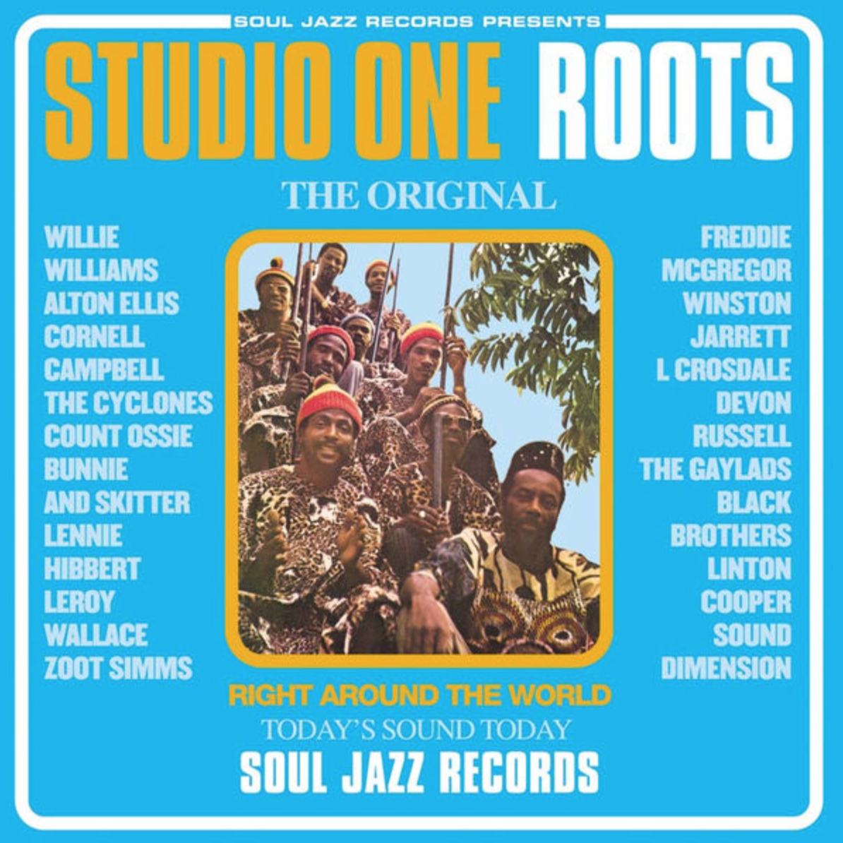 Soul Jazz Records Various - Studio One Roots (Coloured Vinyl)