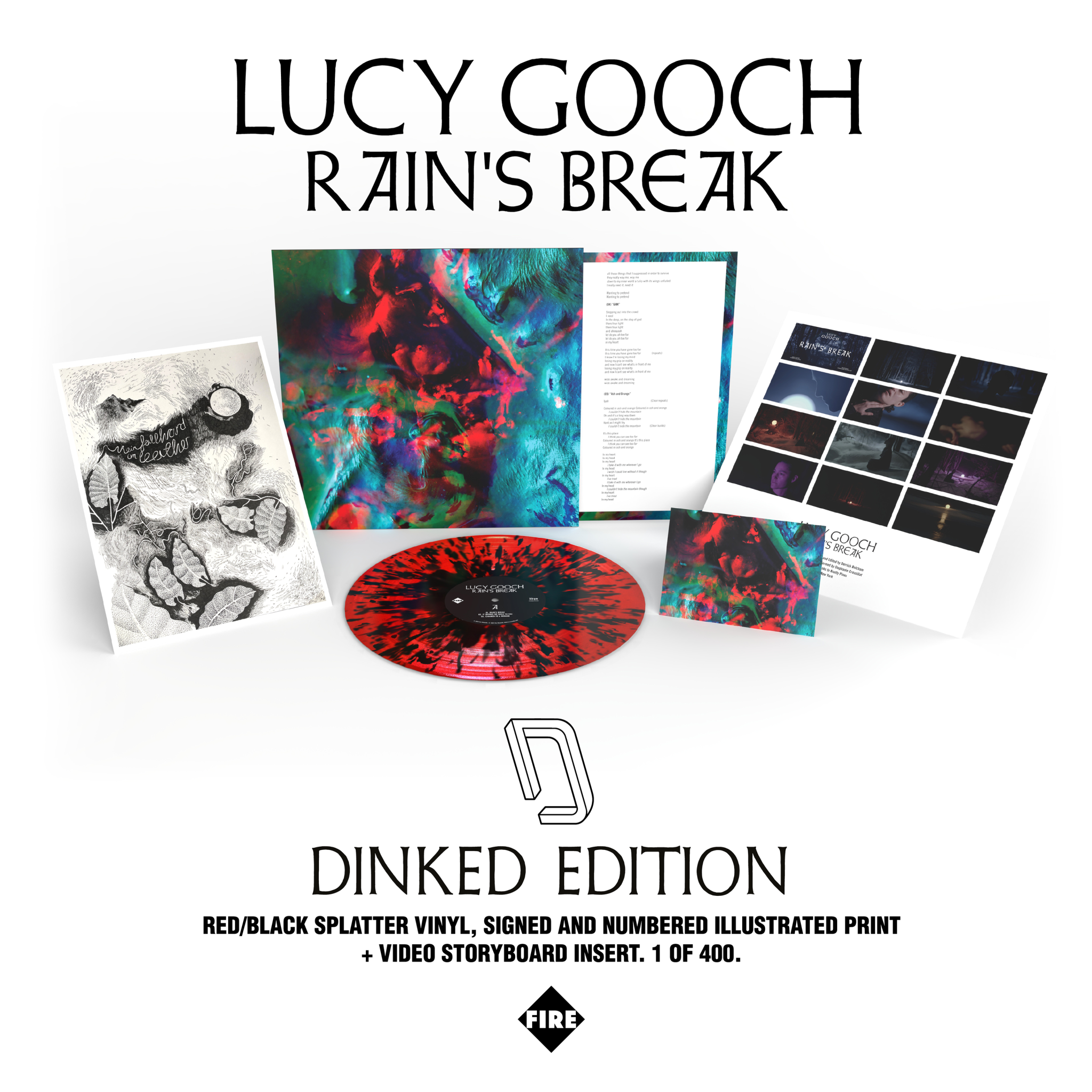 Fire Records Lucy Gooch – Rain's Break EP (Dinked Edition)
