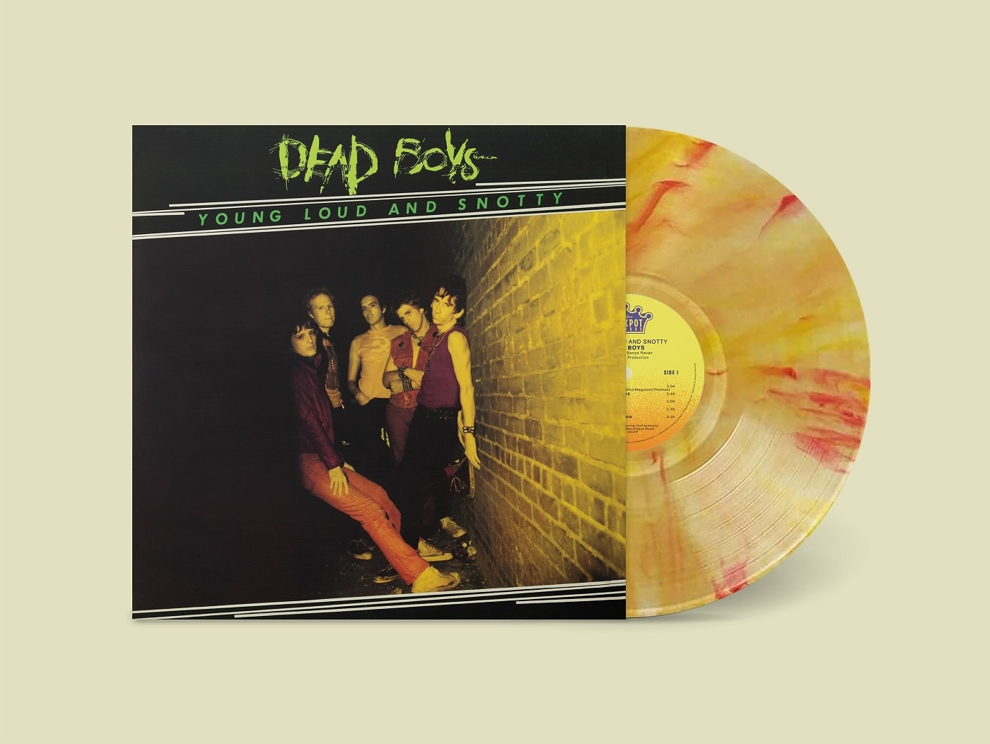 Jackpot Records Dead Boys - Young, Loud and Snotty