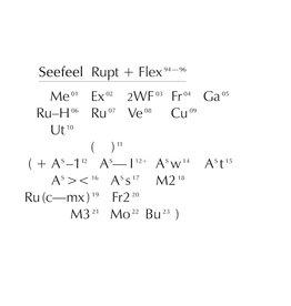 Warp Records Seefeel - Rupt & Flex (1994 - 96)