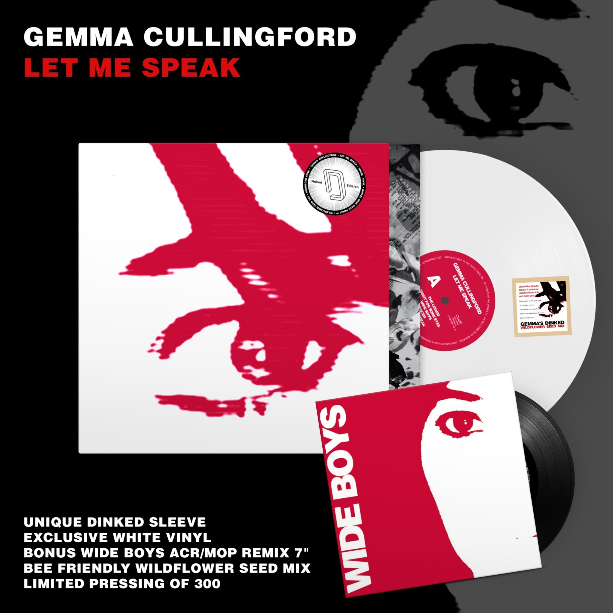 Outré Gemma Cullingford - Let Me Speak (Dinked Edition)