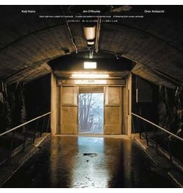 Black Truffle Keiji Haino / Jim O'Rourke / Oren Ambarchi - Each side has a depth of 5 seconds A polka dot pattern in horizontal array A flickering that moves vertically
