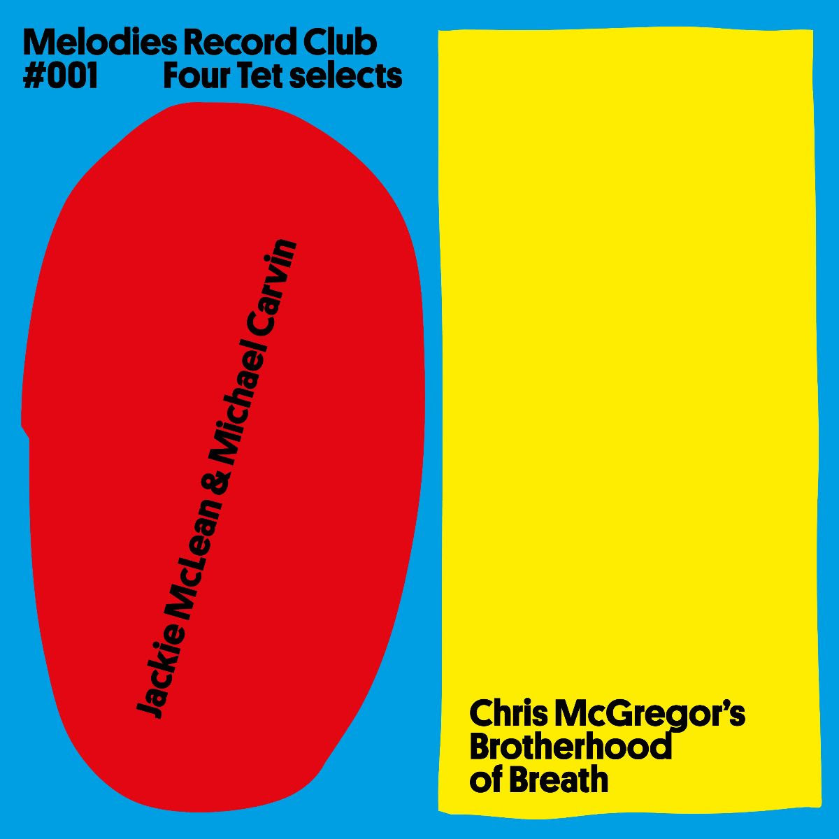 Melodies International Jackie McLean and Michael Carvin / Chris McGregor's Brotherhood Of Breath - Melodies Record Club 001 Four Tet selects