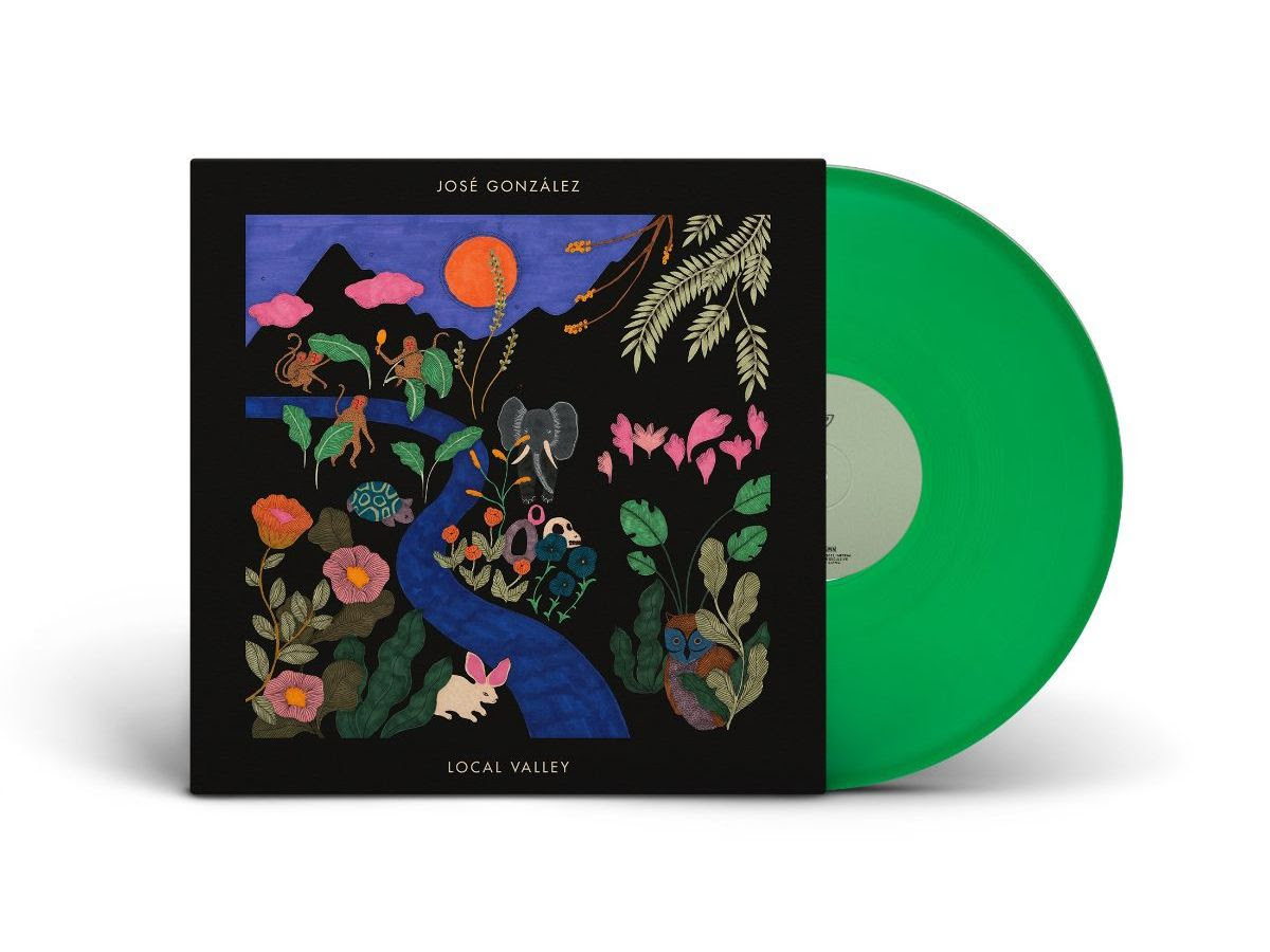 City Slang José González - Local Valley (Coloured Vinyl)