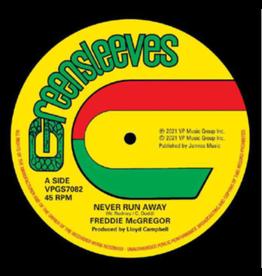Greensleeves Freddie McGregor -  Never Run Away (Coloured Vinyl)