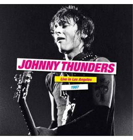 Secret Records Johnny Thunders - Live In Los Angeles 1987