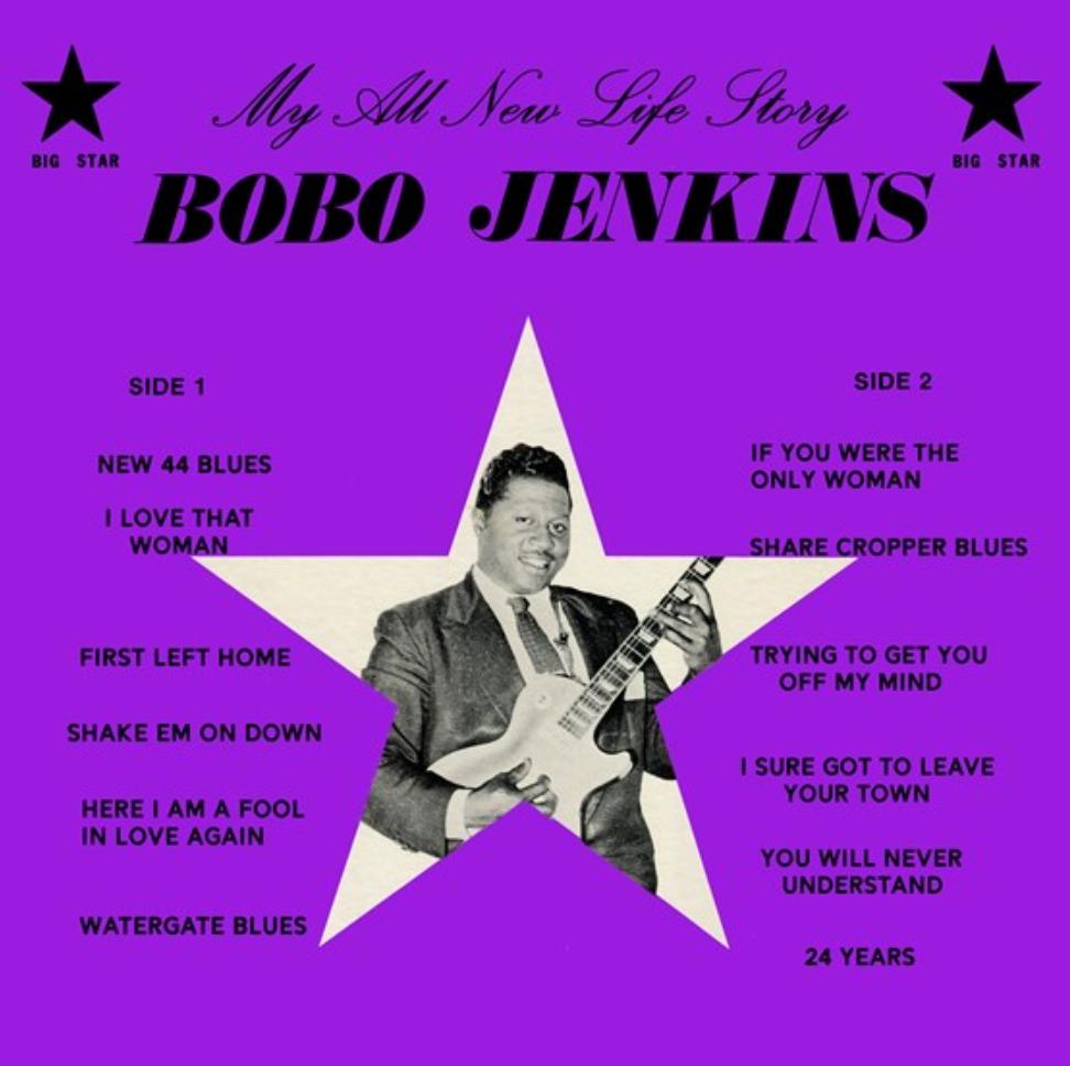 Third Man Records Bobo Jenkins - My All New Life Story (Coloured Vinyl)