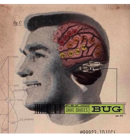 Green Amp Records Dave Davies - Bug (Coloured Vinyl)