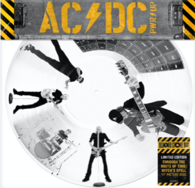 Columbia AC/DC - Through The Mists Of Time / Witch's Spell (Picture Disc)