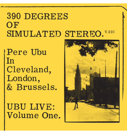 Fire Records Pere Ubu - 390 of Simulated Stereo V.21C (Coloured Vinyl)