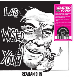 Jackpot Records Wasted Youth - Reagan's In (Coloured Vinyl)