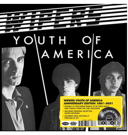 Jackpot Records Wipers - Youth Of America (Anniversary Edition: 1981-2021)