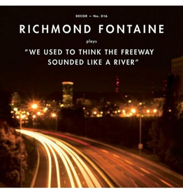 Décor Richmond Fontaine - We Used To Think The Freeway Sounded Like A River (Coloured Vinyl)