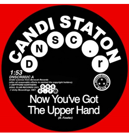 Deptford Northern Soul Club Records Candi Staton / Chappells - Now You've Got The Upper Hand / You're Acting Kind Of Strange (Coloured Vinyl)