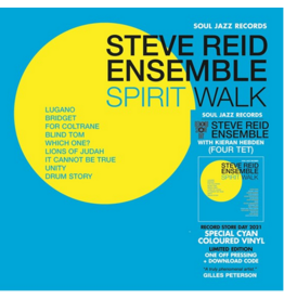 Soul Jazz Records Steve Reid Ensemble (featuring Kieran Hebden) - Spirit Walk (Coloured Vinyl)